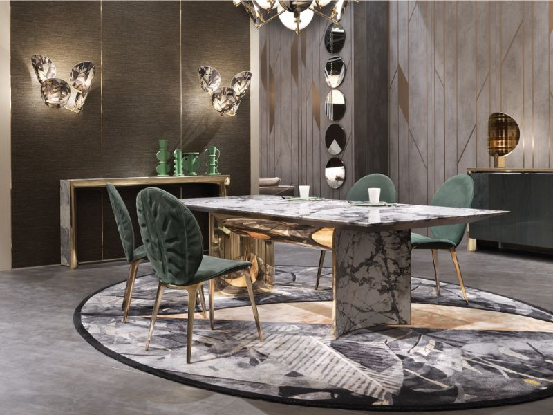 Precious Marble Dining Tables For Your Exclusive Home Design marble dining tables Precious Marble Dining Tables For Your Exclusive Home Design Precious Dining Tables For Your Exclusive Home Design