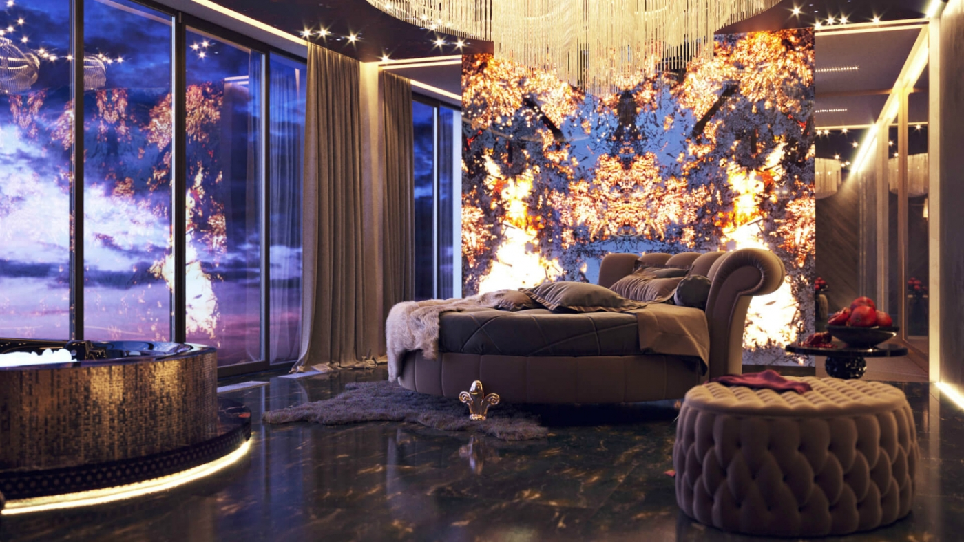 luxury penthouse A Luxury Penthouse Turned Into A Feminine Retreat By Lara German feature 7 1400x788