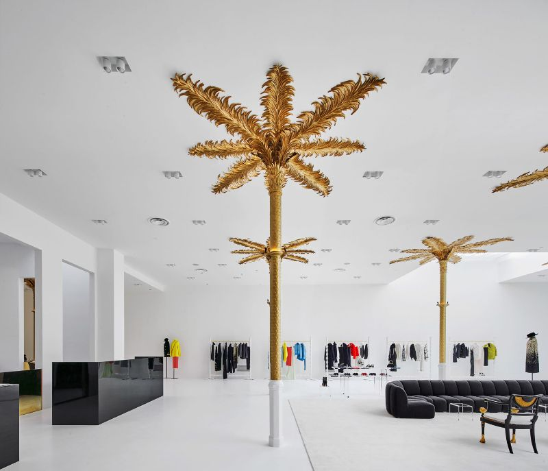 Barcelona's New Concept Store: Palatial Interiors with A Modern Design modern design Barcelona's New Concept Store: Palatial Interiors with A Modern Design Barcelonas New Concept Store Palatial Interiors with A ModernDesign 5