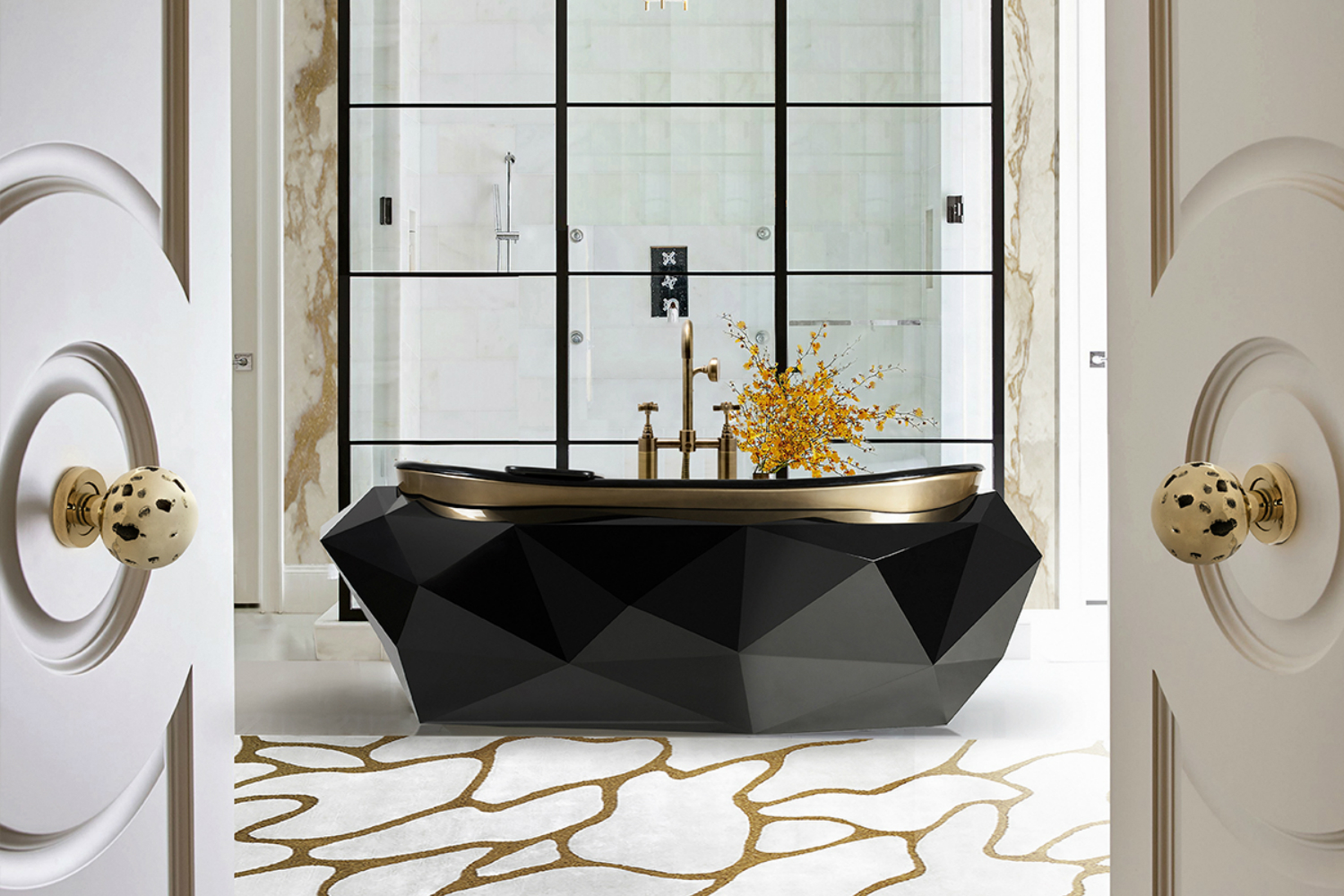 Bold And Modern Bathrooms That You Will Fall In Love With