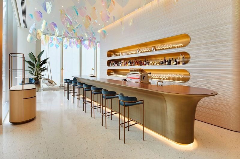 Louis Vuitton's First-Ever Café/Restaurant by Peter Marino and Jun Aoki louis vuitton Navigate Into The Ship Sails Inspired Louis Vuitton's Japan Maison LouisVuitton   s First Ever Caf   and Restaurant by PeterMarino and JunAoki 4