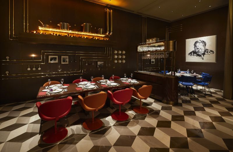 Louis Vuitton's First-Ever Café/Restaurant by Peter Marino and Jun Aoki louis vuitton Navigate Into The Ship Sails Inspired Louis Vuitton's Japan Maison LouisVuitton   s First Ever Caf   and Restaurant by PeterMarino and JunAoki 5