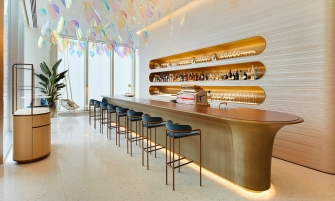 peter marino Louis Vuitton's First-Ever Café/Restaurant by Peter Marino and Jun Aoki LouisVuitton   s First Ever Caf   and Restaurant by PeterMarino and JunAoki feature 335x201