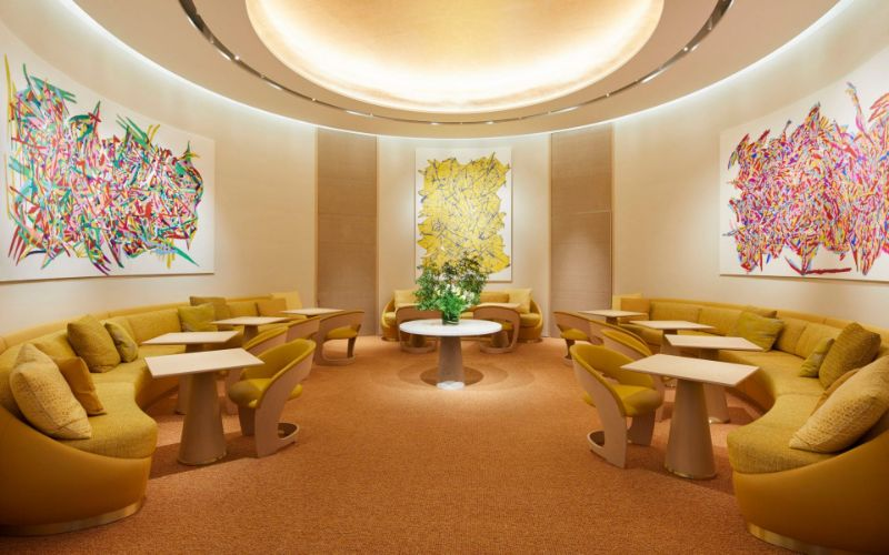 Louis Vuitton's First-Ever Café/Restaurant by Peter Marino and Jun Aoki louis vuitton Navigate Into The Ship Sails Inspired Louis Vuitton's Japan Maison LouisVuitton   s First Ever Caf   and Restaurant by PeterMarino and JunAoki