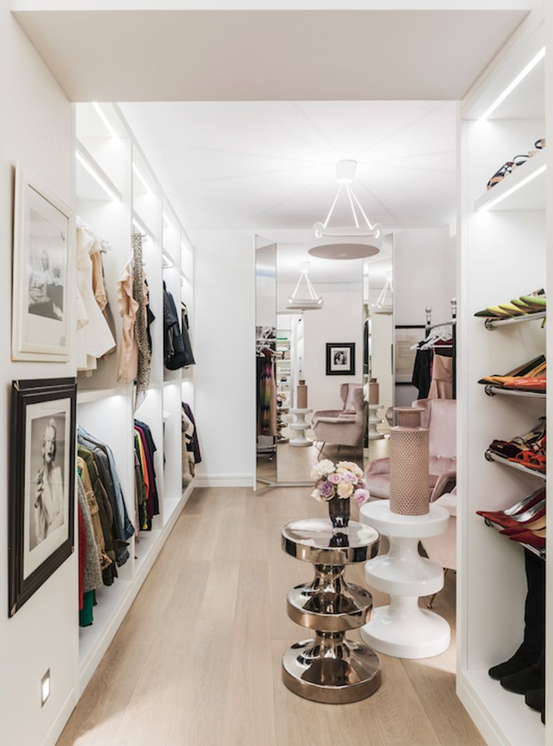 The Most Feminine and Opulent Walk In Closets For A Luxury Home