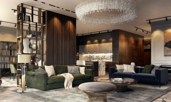 moscow apartment Earth Tones Set The Mood In This Luxury Moscow Apartment feature 6 335x201
