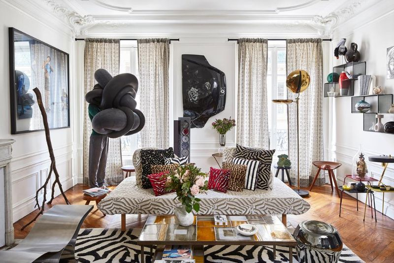 A Luxury Home Design with Patterns by Christian Lacroix's Director home design A Luxury Home Design with Patterns by Christian Lacroix's Director A Luxury Home with Patterns by Christian Lacroixs Director 5