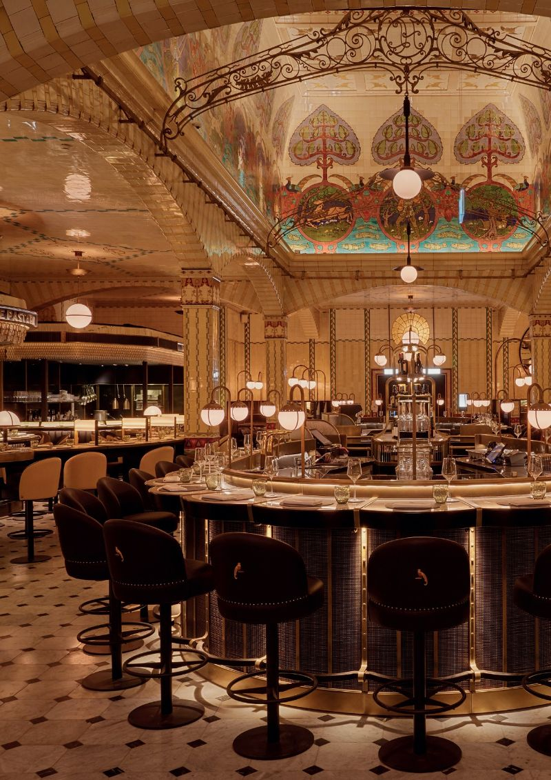 Get The Look: Harrods Dining Hall Designed by David Collins Studio david collins studio Get The Look: Harrods Dining Hall Designed by David Collins Studio Get The Look Harrods Dining Hall Designed by DavidCollinsStudio 3
