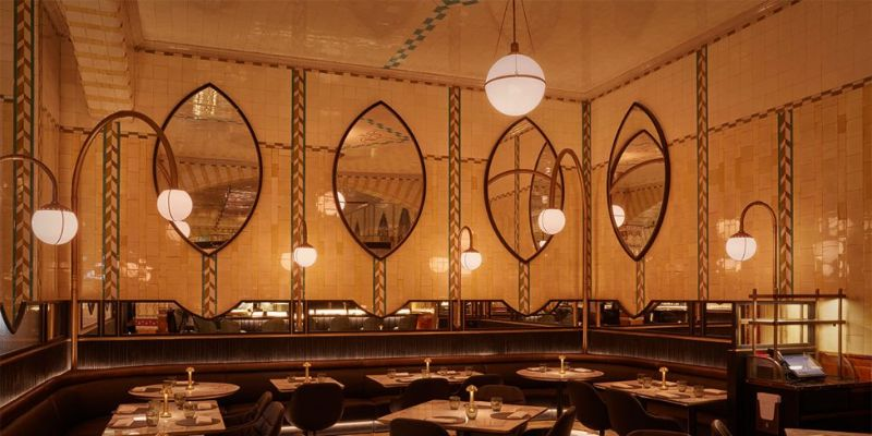 Get The Look: Harrods Dining Hall Designed by David Collins Studio david collins studio Get The Look: Harrods Dining Hall Designed by David Collins Studio Get The Look Harrods Dining Hall Designed by DavidCollinsStudio 6