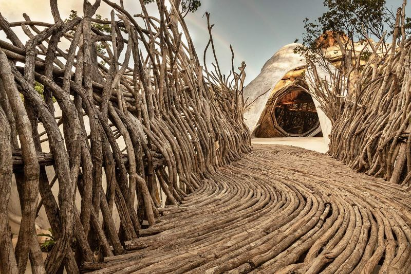 Into The Woods: Architecture Art Turned Into A Gallery architecture art Into The Woods: Architecture Art Turned Into A Gallery Into The Woods ArchitectureArt Turned Into A Gallery 11
