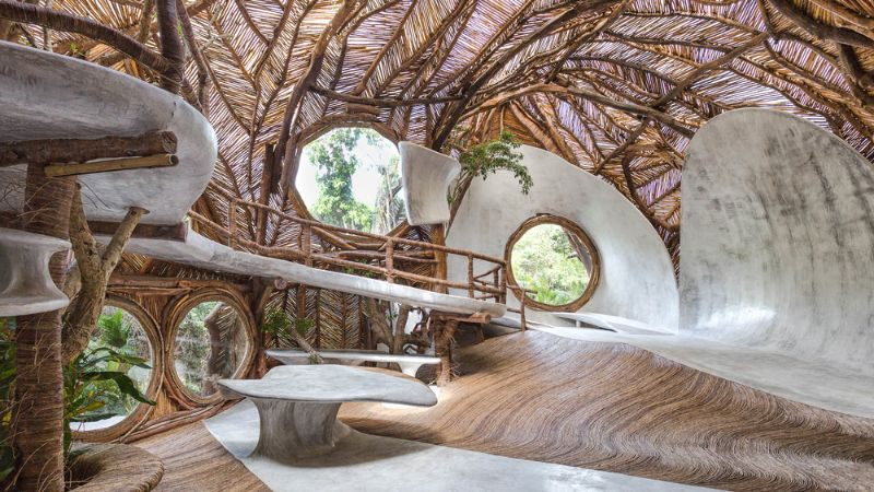 Into The Woods: Architecture Art Turned Into A Gallery architecture art Into The Woods: Architecture Art Turned Into A Gallery Into The Woods ArchitectureArt Turned Into A Gallery 4