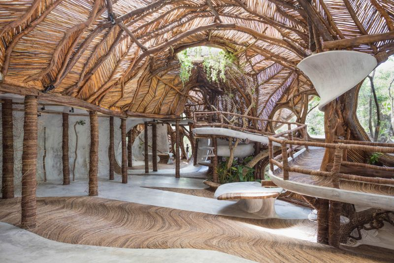Into The Woods: Architecture Art Turned Into A Gallery