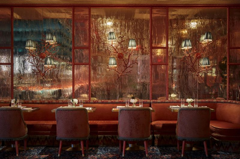 Martin Brudnizki's Most Coveted and Luxurious Restaurant Designs martin brudnizki Martin Brudnizki's Most Coveted and Luxurious Restaurant Designs MartinBrudnizkis Most Coveted and Luxurious Restaurant Designs 4