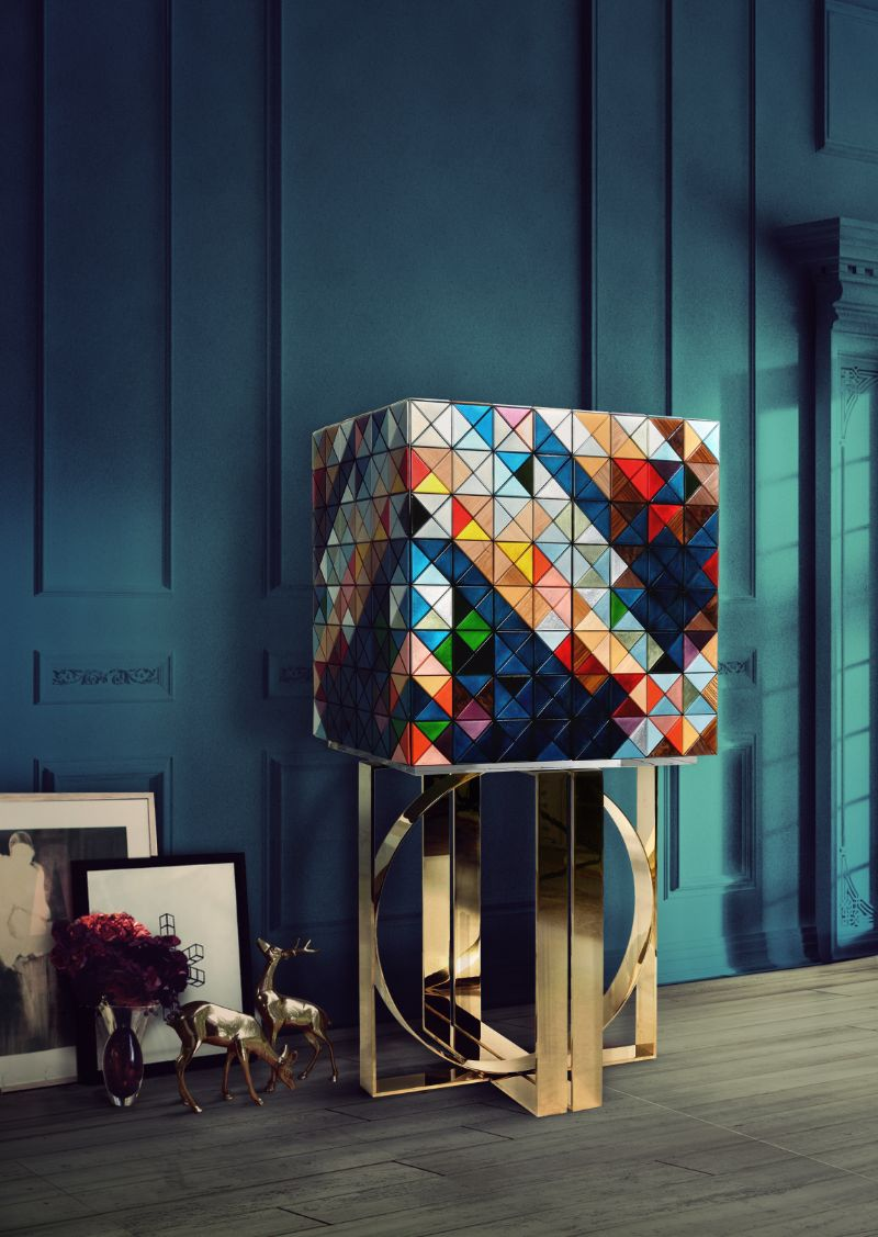 Pixelated Furniture Ideas: Modern Cabinets With Style