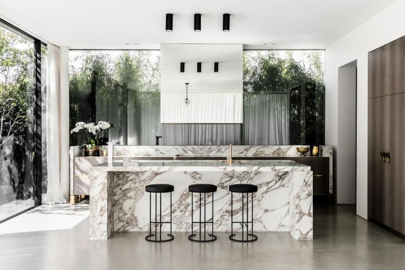 A Luxury Home Design With An Unexpected Color Palette luxury home Soft Hues Are The Perfect Aesthetic For This Luxury Home A LuxuryHome Design With An Unexpected Color Palette 2