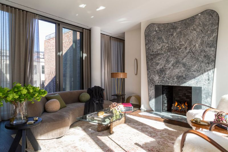Art Deco Meets Italian Modernism In This Luxury Apartment luxury apartment This Luxury Apartment Perfectly Fuses Art Deco And Italian Modernism Art Deco Meets Italian Modernism In This Apartment 4