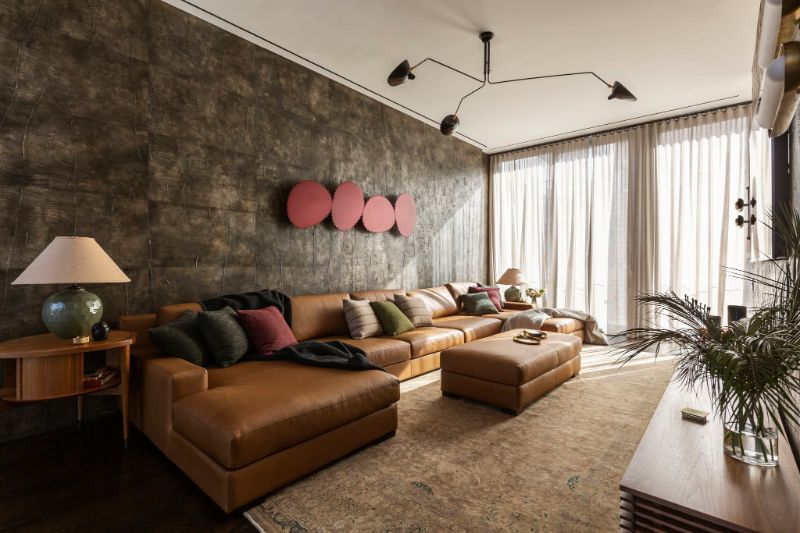 Art Deco Meets Italian Modernism In This Luxury Apartment luxury apartment This Luxury Apartment Perfectly Fuses Art Deco And Italian Modernism Art Deco Meets Italian Modernism In This Apartment 5