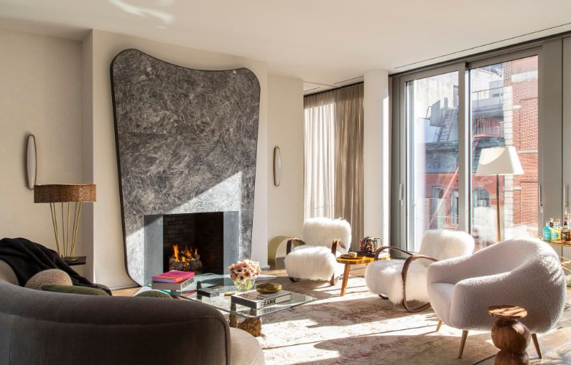 Art Deco Meets Italian Modernism In This Luxury Apartment luxury apartment This Luxury Apartment Perfectly Fuses Art Deco And Italian Modernism Art Deco Meets Italian Modernism In This Apartment