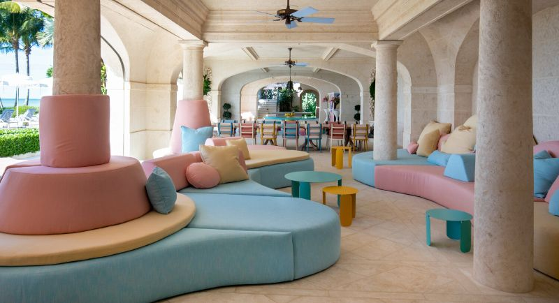 Gulf Coast Home, A Pastel-Colored Paradise By Kelly Behun kelly behun Gulf Coast Home, A Pastel-Colored Paradise By Kelly Behun Gulf Coast Home A Pastel Colored Paradise By KellyBehun 8