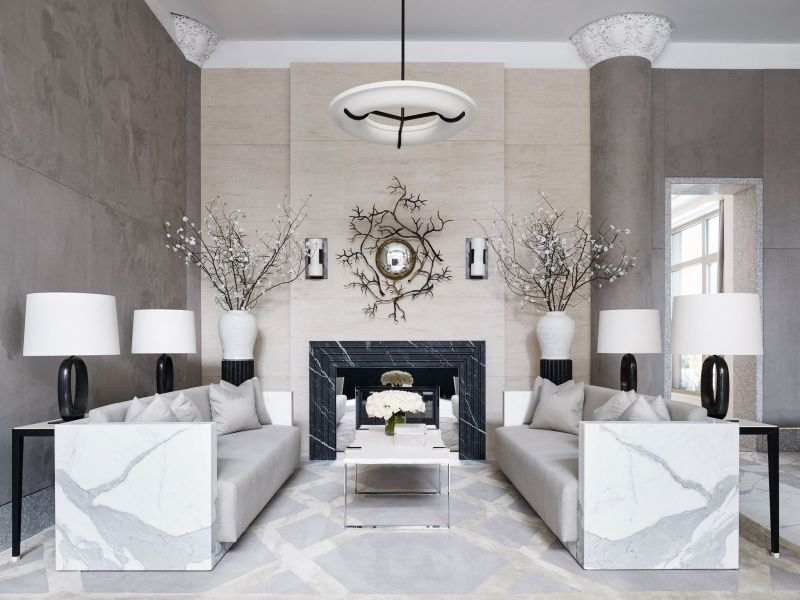 Unraveling Marble's Splendid Duality in Luxury Interiors luxury interiors Mesmerizing Luxury Interiors With Marble Design Inspirations Unraveling Marbles Splendid Duality in LuxuryInteriors 4