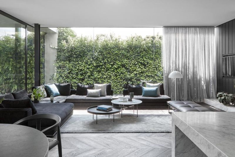 A Luxury Home in Melbourne Designed Around The Modern Art Collection luxury home A Luxury Home in Melbourne Designed Around The Modern Art Collection A Luxury Home in Melbourne Designed Around The Modern Art Collection 11
