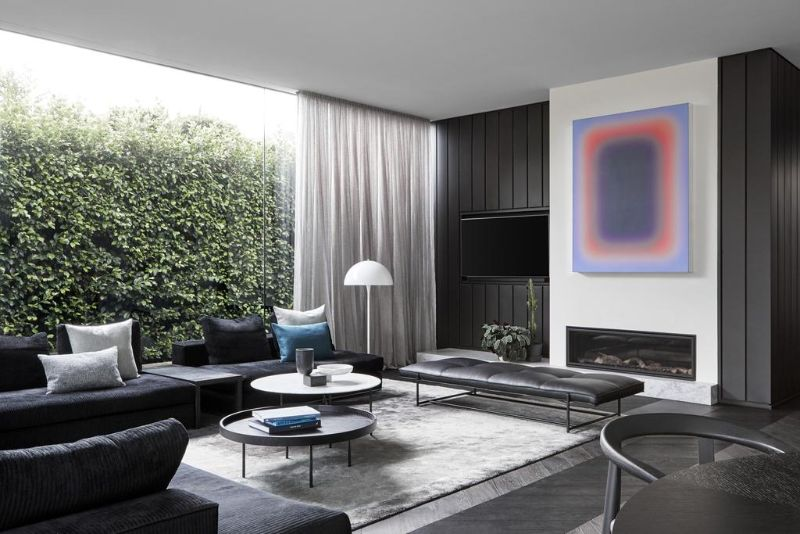 A Modern Art Collection Inspires The Design Of This Luxury Home Home Decor Ideas