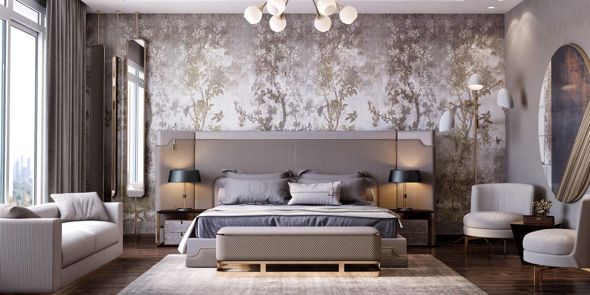 Dress Your Contemporary Bedroom Design With These Wallpaper Ideas