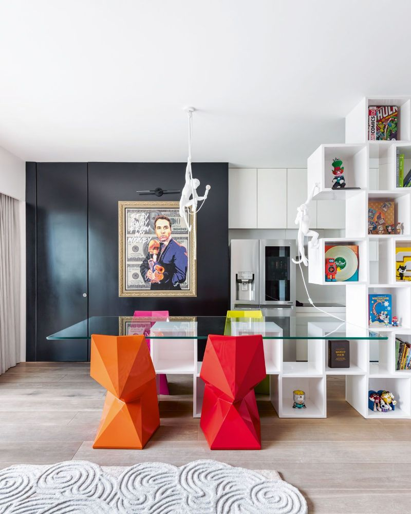 luxury home A Colorful Luxury Home That Enhances The Greatness Of Pop Art Get The Look Of This Colorful Luxury Home Inspired By Pop Art 11