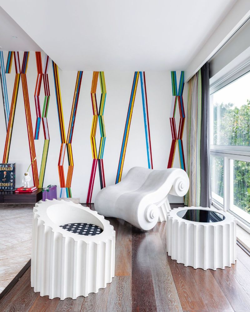 luxury home A Colorful Luxury Home That Enhances The Greatness Of Pop Art Get The Look Of This Colorful Luxury Home Inspired By Pop Art 16