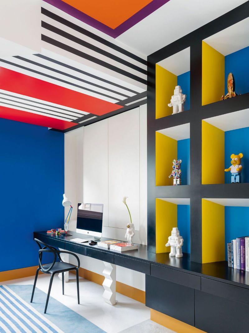 luxury home A Colorful Luxury Home That Enhances The Greatness Of Pop Art Get The Look Of This Colorful Luxury Home Inspired By Pop Art 17