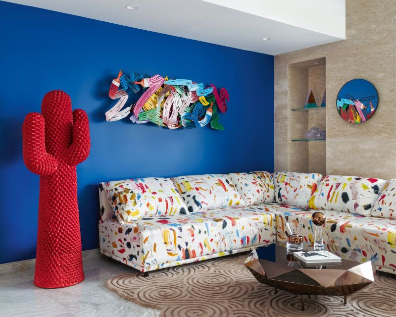 luxury home Get The Look Of This Colorful Luxury Home Inspired By Pop Art Get The Look Of This Colorful Luxury Home Inspired By Pop Art
