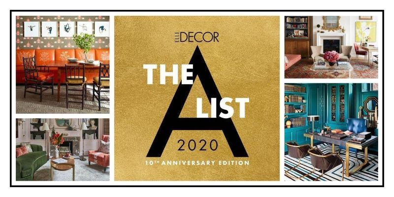 ELLE Decor Unravels The 2020 A-List: The 10th Anniversary Edition elle decor ELLE Decor Unravels The 2020 A-List: The 10th Anniversary Edition ELLE Decor Unravels The 2020 A List The 10th Anniversary Edition