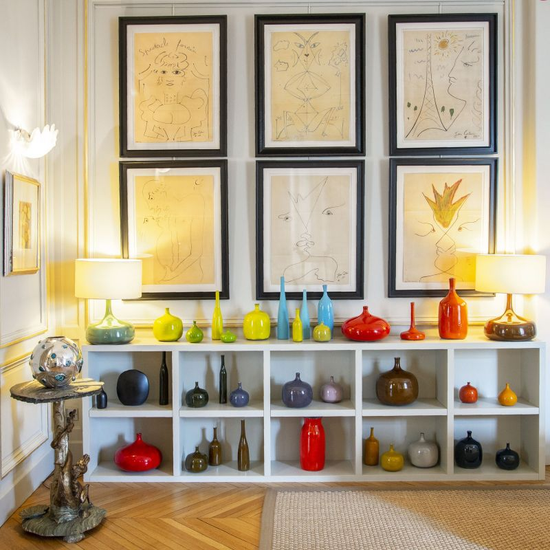 Get The Look Of An Imposing and Multilayered Paris Luxury Apartment