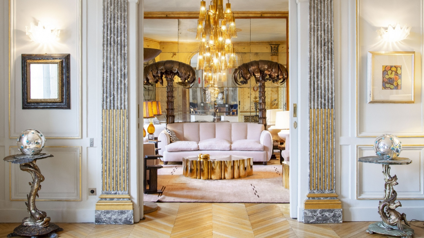 luxury apartment Get The Look Of An Imposing and Multilayered Paris Luxury Apartment Get The Look Of An Imposing and Multilayered Paris Luxury Apartment feature image 1400x788