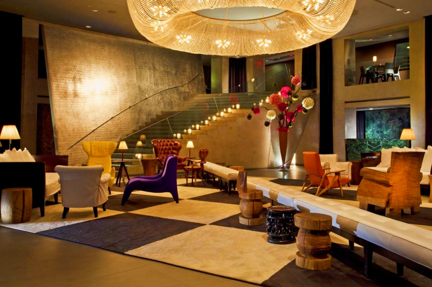 Inside Hotel Paramount In New York A Masterpiece By Philippe Starck