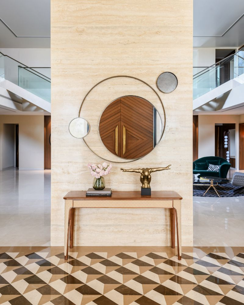 Where Modernity Lives: A Contemporary House With Strong Indian Roots contemporary house Modern Design And Cultural Heritage Meet In This Contemporary House Where Modernity Lives A Contemporary House With Strong Indian Roots 2