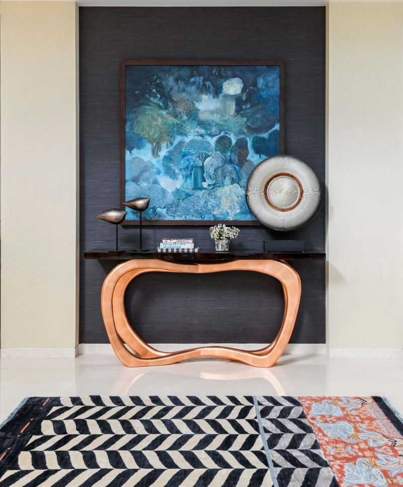 Where Modernity Lives: A Contemporary House With Strong Indian Roots