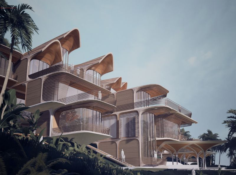 Zaha Hadid Architects' Latest Project Hidding In A Caribbean Island zaha hadid architects Zaha Hadid Architects Releases Sneak Peek Into An Island Getaway Zaha Hadid Architects Latest Project Hidding In A Caribbean Island 4