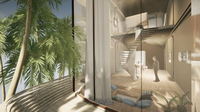 Zaha Hadid Architects' Latest Project Hidding In A Caribbean Island zaha hadid architects Zaha Hadid Architects Releases Sneak Peek Into An Island Getaway Zaha Hadid Architects Latest Project Hidding In A Caribbean Island 8
