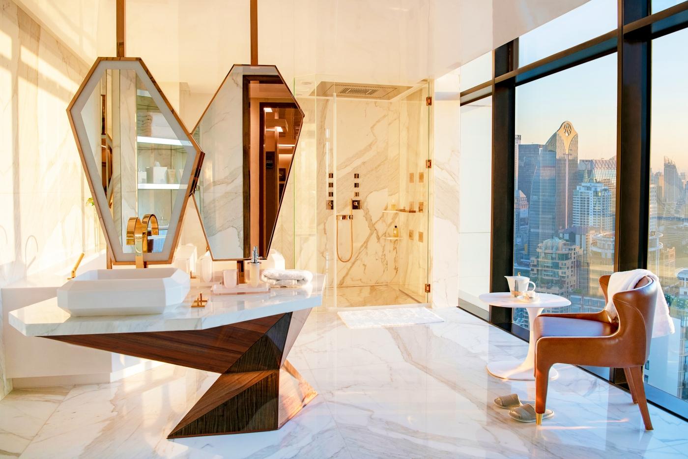 design intervention Design Intervention Turns A Bangkok Apartment Into A Stunning Abode 10 1 1400x933