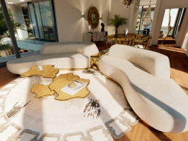 luxury living room Unraveling A Luxury Living Room in A $15 Million Mansion In Capri 5 63 Photo 265x200