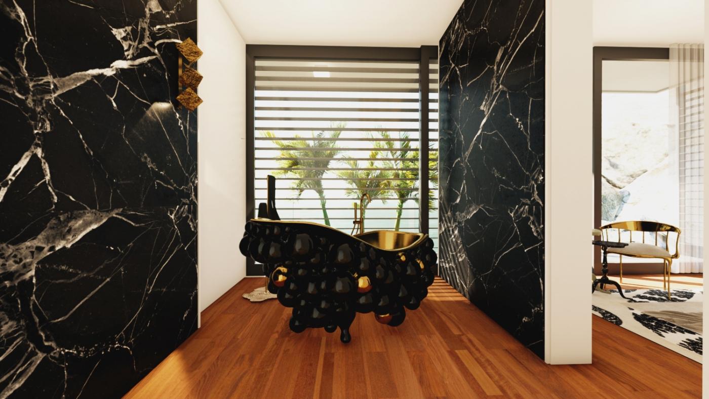 modern bathroom A Modern Bathroom Of Your Dreams: Step Inside a Mansion in Capri 8 73 Photo 1400x788
