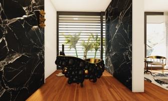 modern bathroom A Modern Bathroom Of Your Dreams: Step Inside a Mansion in Capri 8 73 Photo 335x201