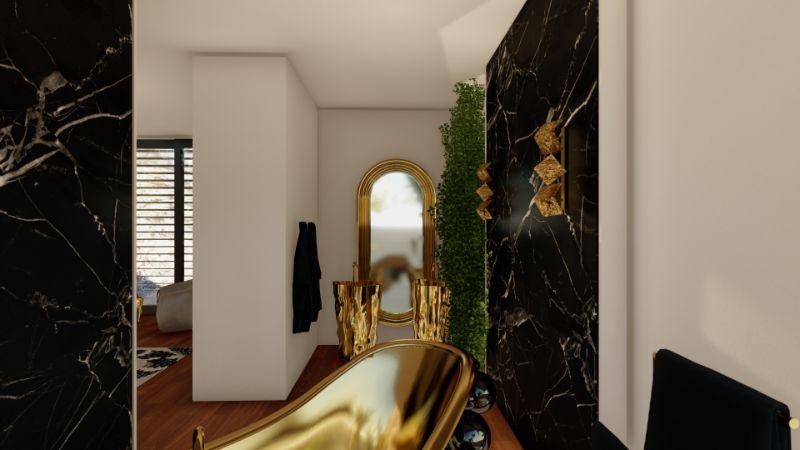 modern bathroom A Modern Bathroom Of Your Dreams: Step Inside a Mansion in Capri A Modern Bathroom Of Your Dreams Step Inside a Mansion in Capri 2