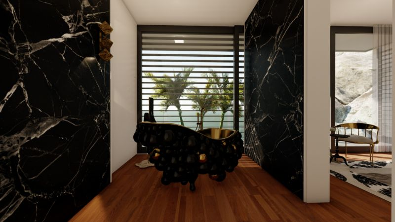 Modern Interiors' Ideas For The Most Relaxing Areas Of Your Home modern interiors Modern Interiors' Ideas For The Most Relaxing Areas Of Your Home A Modern Bathroom Of Your Dreams Step Inside a Mansion in Capri
