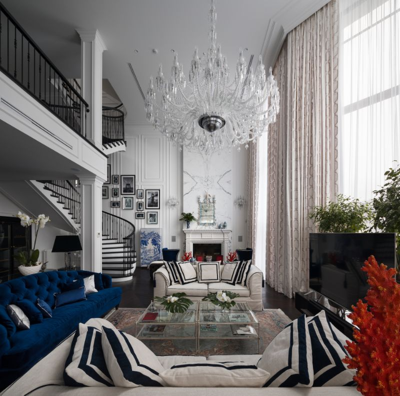 'Sunny Valley' Residence: Spectacular Design by Bolshakov Interiors bolshakova interiors Bolshakova Interiors Brings Together A Multitude Of Luxury Design Brands APR Bolshakova Interiors Sunny Valley c Andrey Avdeenko 9 1