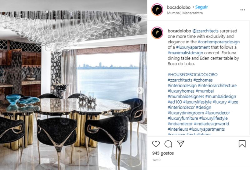 luxury dining rooms An Ultimate Selection Of Luxury Dining Rooms That Shine On Instagram An Ultimate Selection Of Luxury Dining Rooms That Shine On Instagram 2