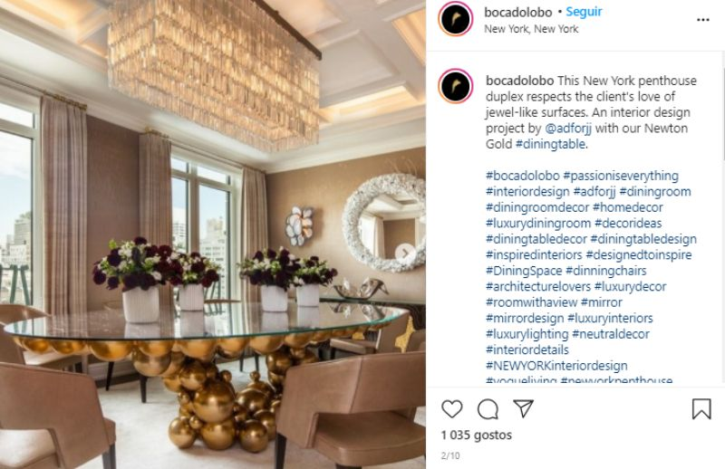 luxury dining rooms An Ultimate Selection Of Luxury Dining Rooms That Shine On Instagram An Ultimate Selection Of Luxury Dining Rooms That Shine On Instagram 4