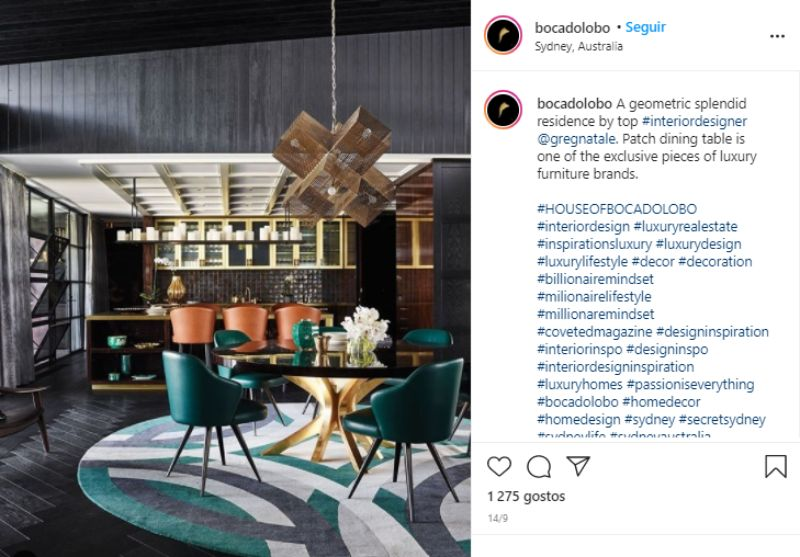 luxury dining rooms An Ultimate Selection Of Luxury Dining Rooms That Shine On Instagram An Ultimate Selection Of Luxury Dining Rooms That Shine On Instagram