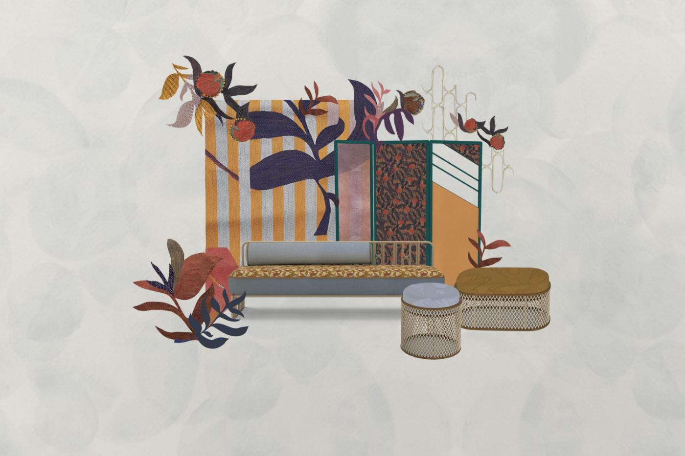 cristina celestino Cristina Celestino and Maison Matisse Join Forces For A Furniture Collection collection de cristina celestino c maison matisse 1598868523 1 1400x933